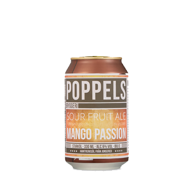 A craft beer can